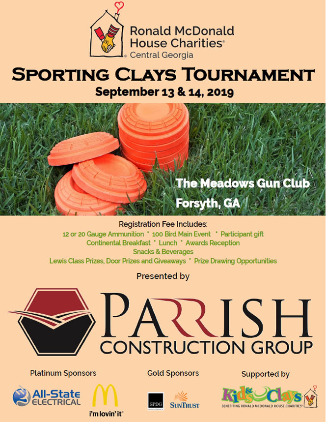 2019 Sporting Clays Brochure