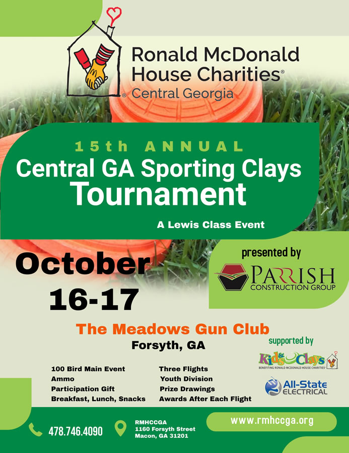 Central GA Sporting Clays Tournament